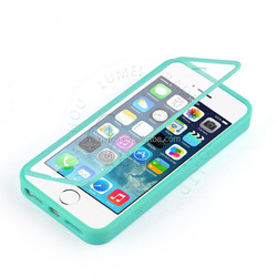 Silicone TPU Gel Transparent Clear Cover Wallet Flip Case for iPhone 6