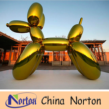 Different colorful art modern stainless steel balloon dog sculptre NTS-551R