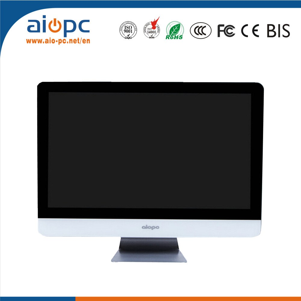 Cheap desktop computer - 24 Inch Desktop Computer Monitor Very Cheap All In One Pc Made In China Mini Desktop