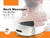 wireless controller shiatsu neck massager with vibration and accupunture