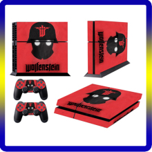 2017 Trending product Protective vinyl decal game Skin Sticker for PS4 console design