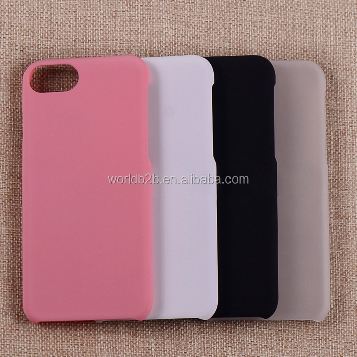 Newest Rubber Coating PC Case for iPhone 7,Many Colors are Available