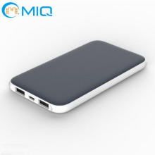 Rubber oil processing power bank5000mah Good grip for iphone