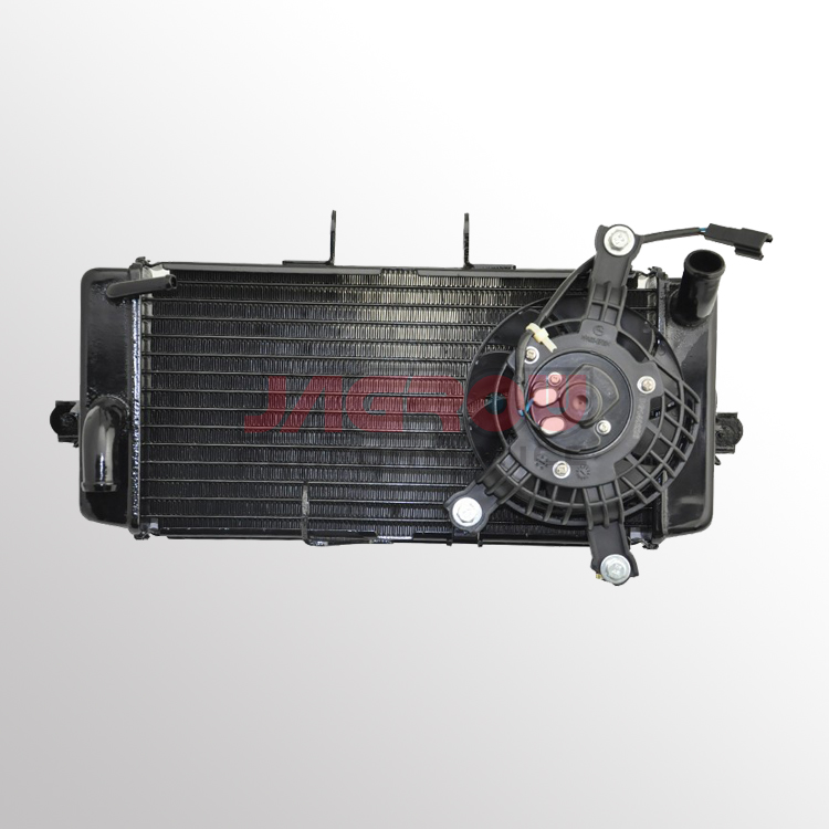 motorcycle radiator with fan for SUZUKI GW250 2012