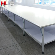 Customer Made Garment Factory High Quality Double-Tier Spreading Machine Cutting Table