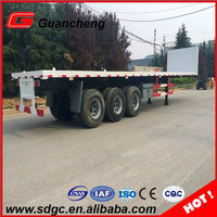 Good Container Flatbed Trailer Flat Body