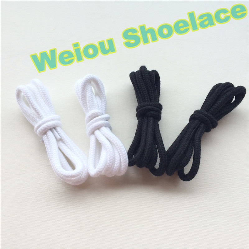 Weiou Cotton round kids shoe strings for jordans shoe laces shoelace store