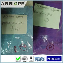color changing fabric wet materials powder photochromic pigment dye