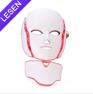 2018 Portable Led Light 7 Color Pdt Skin Care Therapy Mask