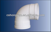 Manufacturer quality pvc pipe fittings with 90 degree elbow