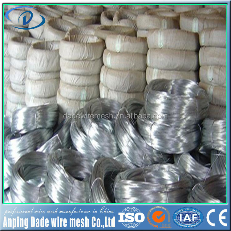 Wholesale Galvanized Wire plastic coated metal wire made in china