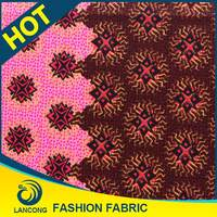 2015 New Design Wholesale Africa Style english wax print fabric