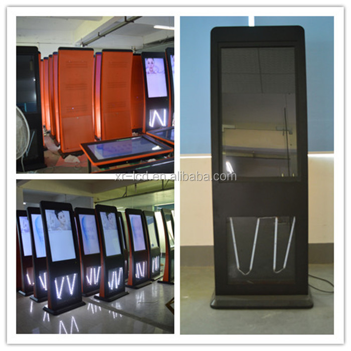 Factory sale 42 inch~85 inch floor standing lcd display 43 inch touch screen monitor