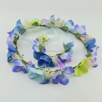Newest Dried Flower Christmas Wreaths with Wrist 1503E