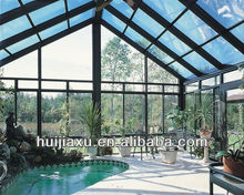 Prefabricated Tempered Glass House,sunroom,green house