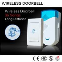high-end 52 ringtones wireless doorbell with entry alert door chime and magnetic sensor