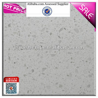 china artificial white sand quartz stone slabs countertops