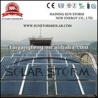 Solar Storm Solar Hot Water Collector Project