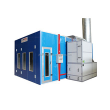 LY-8200 used auto spray booth for sale