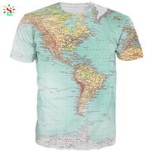 Factory direct sale men tshirt 3d printing short sleeves cool man summer clothes custom top