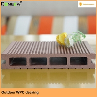 Hot sale Recyclable Wood Plastic Composite Board for Outdoor WPC Decking