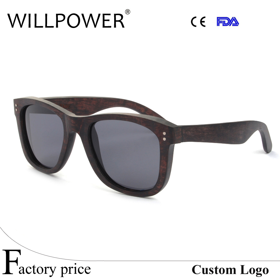 Wood polarized cat eye shades sunglasses brands