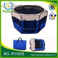 Folding dog tent ,pet play pen, pet tent bed made of Oxford cloth