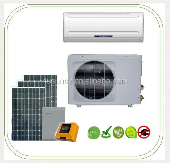 2017 New Style Solar 12 volt Air Conditioner 9000 btu solar split air conditioning