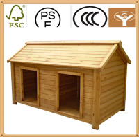 small animal house pet cage 2 doors wood pet cage
