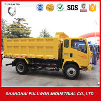 SINOTRUCK mini used tipper truck prices cheap