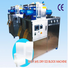 Dry ice tube processing plant