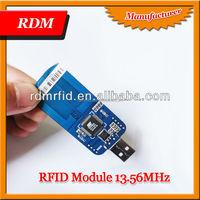 HF RFID Reader Writer USB Keyboard Emulation Reader OEM