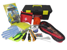 Auto Automotive EMERGENCY TOOL KIT Highway Road Side Assistance Car Supplies Set