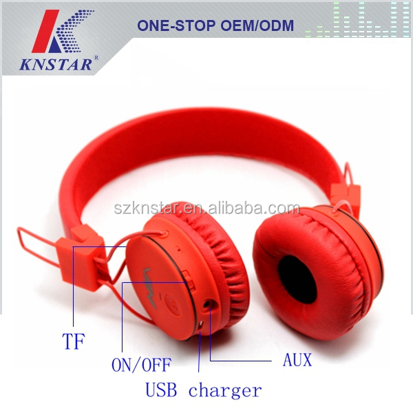 Functional headphone withTF mp3 player / FM radio NIA-1682
