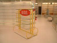 Hot Sale! Interior Retail Design Clothes Rack Shop Fittings