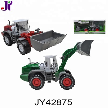 Children plastic farmer tractor trailer toy trucks