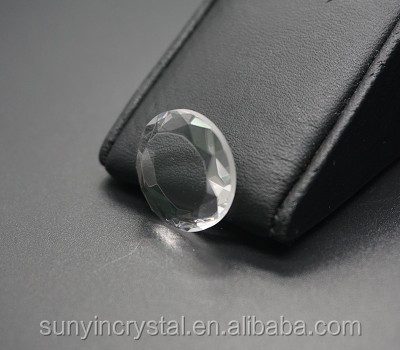 Sapphire crystal diamond cut customized color Women pendant charm earring diamond cut sapphire ring