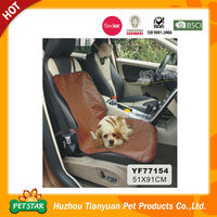 PU Leather Pet Car Seat