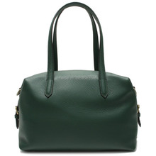 CSS1337-001 Wholesale bags designer branded large women bag genuine green pebble leather handbags in guangzhou