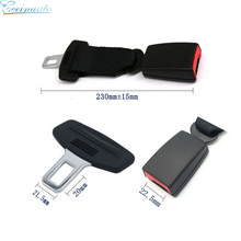 Car Interior parts two point metal bus safety seat belt Seatbelt extended buckle