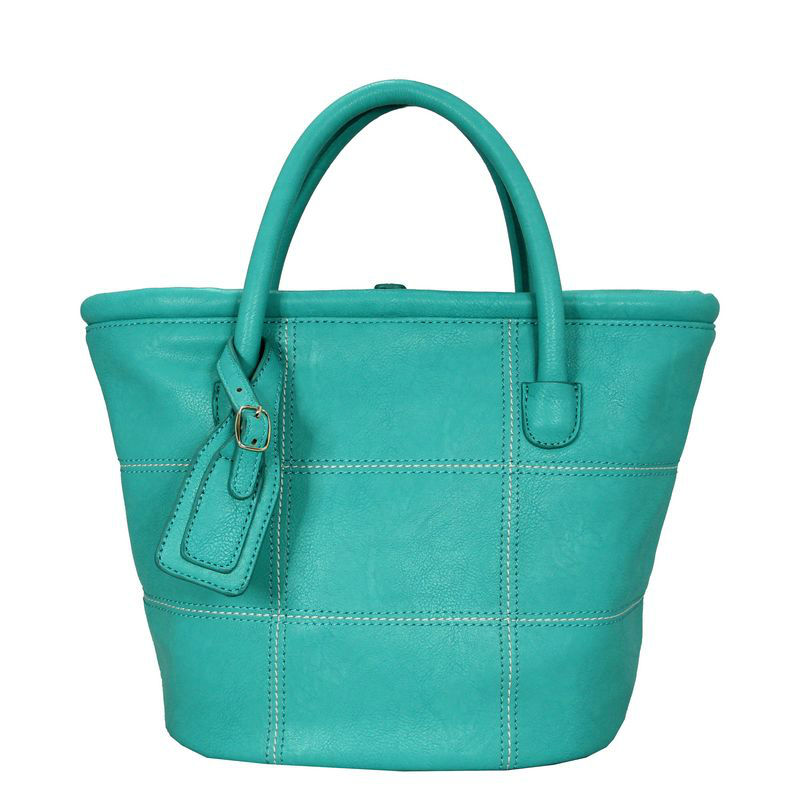 2013 tote pu bright color quilt green handbags fashion girls latest style of bags