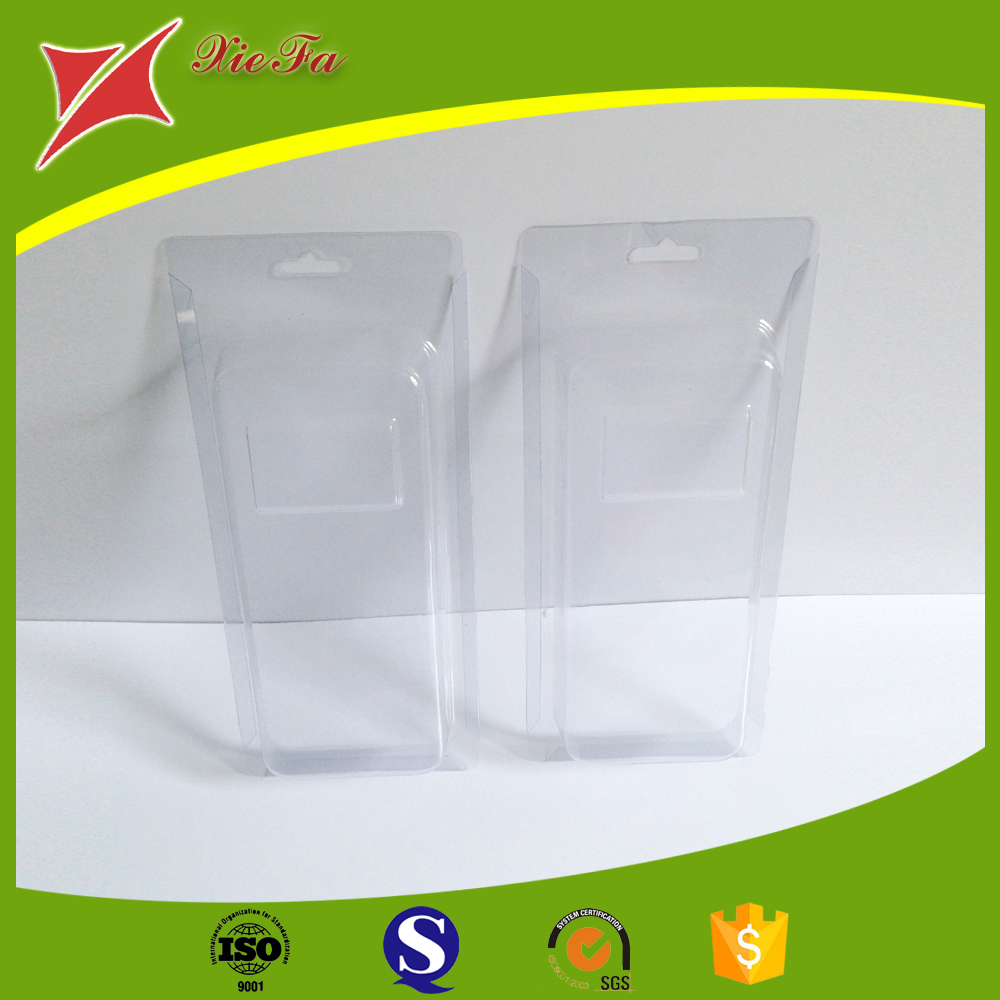 Clear sliding blister card packaging