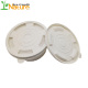 Hot Selling Eco Biodegradable Plastic Disposable Corn Starch Salad Bowl with Lid