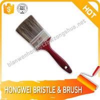 Best selling tapered filament plastic handle good paint brush