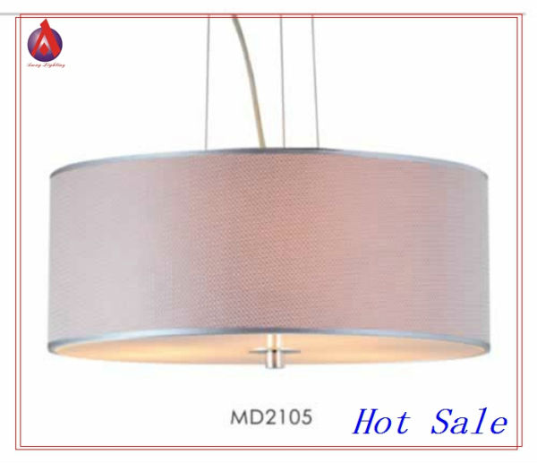 Newest Design Pink Fabric Chandeliers Direct From China By Amay Lighting MD2105