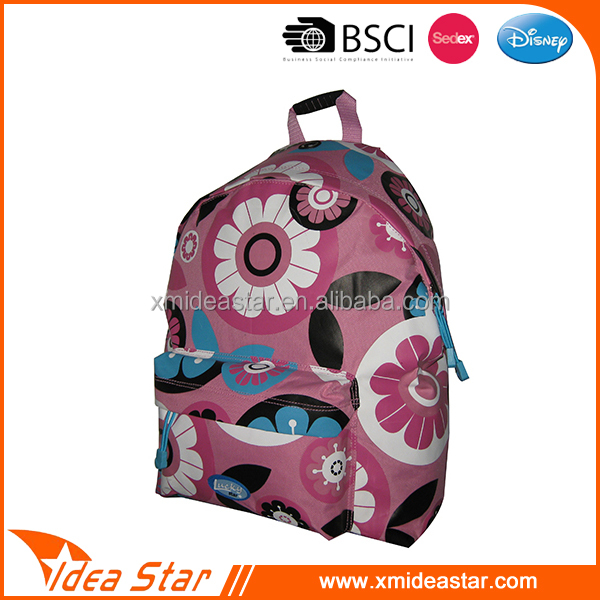 Fashion 600D backpack school