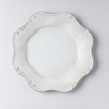 Round Plastic Wedding Decoration handmade Plates for dinner
