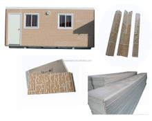 container house wall panel/siding/ Polyurethane foam board/ exterior wall cladding 16mm