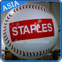 Giant Inflatable Advertising Round Balloons / Flying Baseball Balloons with Your Logo