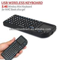 2.4G mini wireless keyboard for Hisens Sharp Google lg smart tv Android TV Box Mobile Phone IPAD 2.4GHz wireless keyboard